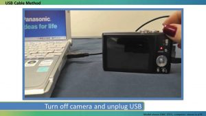 How to transfer photos from your Lumix Camera to a MAC - YouTube