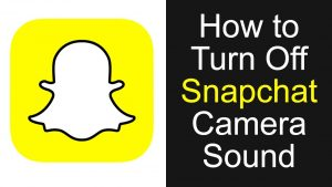 How to Turn Off Snapchat Camera Sound UPDATED - YouTube