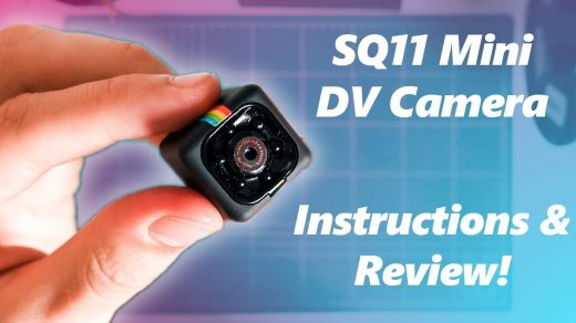 SQ11 Mini DV Camera Setup, Review, Instructions and Sample Footage! -  YouTube