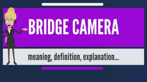 What is BRIDGE CAMERA? What does BRIDGE CAMERA mean? BRIDGE CAMERA meaning  & explanation - YouTube