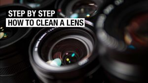 How to CLEAN Your CAMERA LENS - Fast and Easy - YouTube