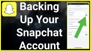 How To Backup Snapchat Account - YouTube