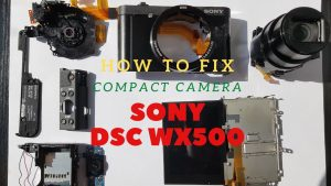 How to Fix Compact Camera Broken Lens | PART 1 - YouTube