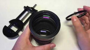 How to Repair a Damaged Lens Filter Thread using a Repair Tool - YouTube