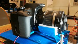 8mm Film Scanner, final version with Canon 1000D – Sabulo, Inc.