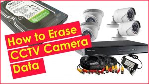 How to Erase CCTV Camera Data | How to Format CCTV Surveillance Camera DVR  Hard Drive Safely - YouTube
