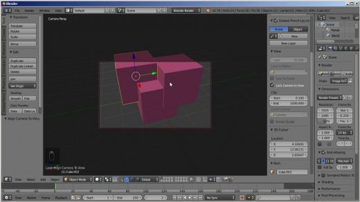 Blender how to change camera different position/view on render ? - YouTube
