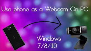 How to use phone camera as a webcam on PC Via USB and Wifi and use in zoom  || In [Urdu-Hindi] - YouTube