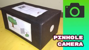 How to make a pinhole camera at home very easy way how make pinhole camera  for school project DIY - YouTube