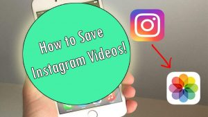 How to Save Instagram Videos to your Camera Roll! (Easy Tutorial) - YouTube