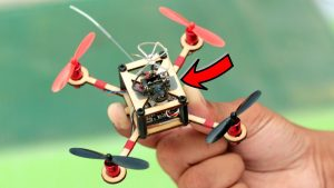 How To Make Drone with Camera At Home (Quadcopter) - YouTube