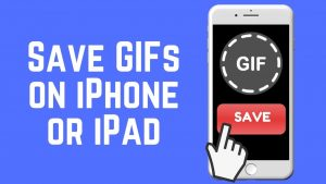 How to Save GIFs to iPhone or iPad the Easy Way 2018 - YouTube
