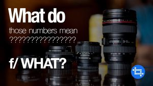 What do the numbers mean on my lens mean? - YouTube