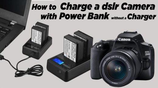 How to Charge Camera Battery with Power Bank, Mobile Charger or Laptop   without  Charger - YouTube