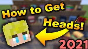How to Get Custom Heads In Minecraft 1.16+ - YouTube