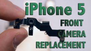 iPhone 5 Front Camera Replacement - YouTube
