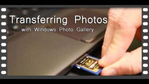 Transferring(copying) Photos from Camera to Computer - YouTube