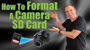 How To Format A Camera SD Card - YouTube