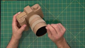 Professional Cardboard Camera - FREE PLANS .. by Gary Hegedus - YouTube