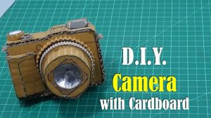 DIY: Camera with Cardboard - How to Make - YouTube