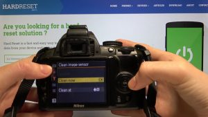 How to Clean Image Sensor in Nikon Camera – Turn on / off Auto Clean -  YouTube