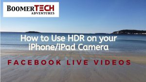 How to Use HDR on your iPhone/iPad Camera - YouTube