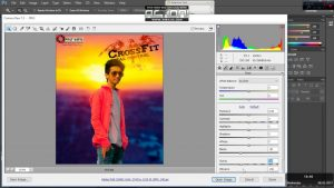 how to open camera raw filter in adobe photoshop cs6[solved] - YouTube