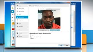 How to check if webcam is working correctly or not in Skype® for Windows® -  YouTube