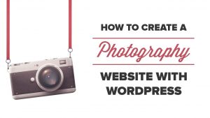How to Build a Photography Website with WordPress - YouTube