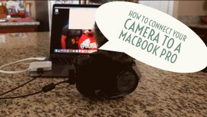How To Connect Your Camera To A MacBook Pro - YouTube