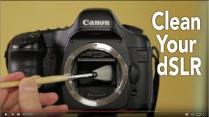 How to clean your digital camera Lenses and Sensor: Digital Photography  Gear - YouTube