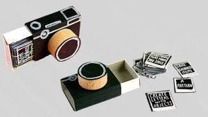 How To Make Mini DSLR Camera From Matchbox - YouTube