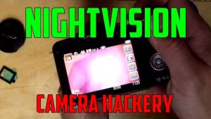 How to remove your camera's Infrared filter - YouTube