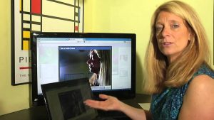 How to Take a Picture of Myself on a Web Camera & Post It as My Pro... :  Keeping Up With Technology - YouTube