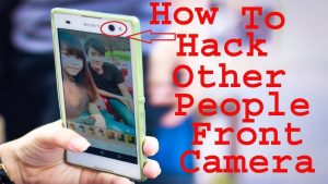 how to hack other peoples phone camera | Hack any mobile front camera -  YouTube