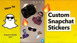 How to Make and Send Custom Snapchat Stickers - YouTube