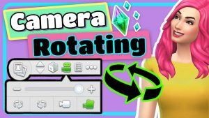 The Sims 4 Freely Rotating the Camera While Building Tutorial - YouTube