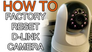How to factory reset D-Link IP camera - YouTube