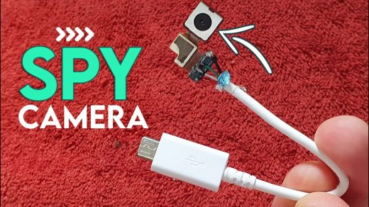 How to make Spy Cctv Camera at Home - with old mobile Camera - YouTube