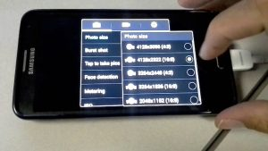 Galaxy S4 - Changing Camera Settings to 13MP - YouTube