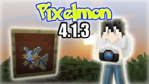 Minecraft Pixelmon 4.1.3 Update: How To Make/Use a Camera And a Pixelmon  Painting - YouTube