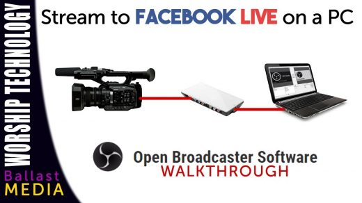 Use an external camera to stream on Facebook Live, PC and OBS Walkthrough -  YouTube