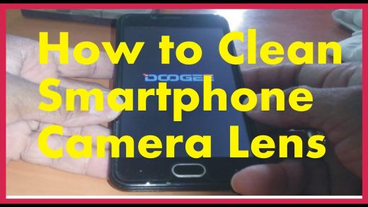 How to Clean Smartphone Camera Lens - YouTube