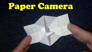 How to make paper camera - YouTube