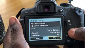 Enable WiFi Transfer to Computer on Canon EOS Rebel T6i / EOS 750D - YouTube