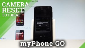 How to Reset Camera in myPhone GO - Restore Camera Defaults  HardReset.info  - YouTube