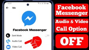 How To Turn Off Audio & Video Call On Facebook Messenger    Disable  Messenger Call - YouTube