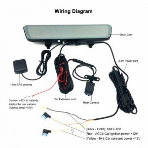 Mirror DVR With Rear View Camera Connection • BYRGPUB.COM