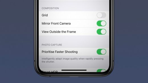 iOS 14 on iPhone: Mirror front facing camera selfies - 9to5Mac