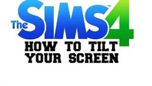 ▻Sims 4 Tips - How To TILT Screen / Camera Angle Laptop Controls PC -  YouTube